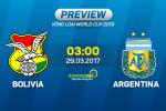 Bolivia vs Argentina (3h00 ngày 29/3): Thêm một trận thắng xấu xí?