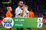 Tổng hợp: Hà Lan 1-2 Italia (Giao hữu quốc tế)