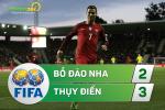 Tong hop: Bo Dao Nha 2-3 Thuy Dien (Giao huu quoc te)
