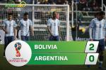 Tổng hợp: Bolivia 2-0 Argentina (VL World Cup 2018)