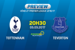 Tottenham vs Everton (20h30 ngay 5/3): Sat thu doi dau