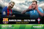 TRUC TIEP Barca vs Celta Vigo 02h45 ngay 5/3 (La Liga 2016/17)