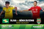 SLNA 1-1 Binh Duong (KT): Bat ngo phut bu gio