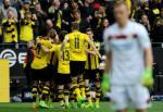 Tong hop: Dortmund 6-2 Leverkusen (Vong 23 Bundesliga 2016/17)