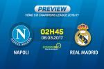 Napoli vs Real Madrid (2h45 ngay 8/3): Mon qua sinh nhat