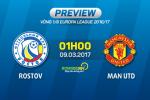 Rostov vs MU (1h00 ngay 10/3): Ngay cua Ibrahimovic