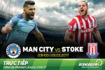 Man City 0-0 Stoke (KT): Dut mach toan thang
