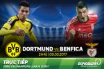 Dortmund 4-0 (4-1) Benfica (KT): Goi ten linh duong den Aubameyang