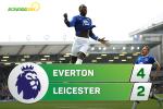 Tong hop: Everton 4-2 Leicester (Vong 32 NHA 2016/17)