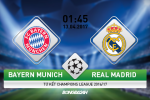 Bayern Munich vs Real Madrid (1h45 ngay 13/4): Phim bom tan cua nhung nguoi anh em