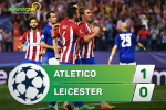 Tong hop: Atletico Madrid 1-0 Leicester (Tu ket Champions League 2016/17)