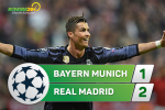 Tong hop: Bayern Munich 1-2 Real Madrid (Tu ket Champions League 2016/17)