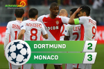 Tong hop: Dortmund 2-3 Monaco (Tu ket Champions League 2016/17)