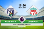 Nhan dinh West Brom vs Liverpool 19h30 ngay 16/4 (NHA 2016/17)