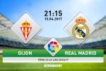 Gijon vs Real Madrid (21h15 ngay 15/4): Ngay cua kep phu