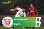 Tong hop: Quang Ninh 2-2 HAGL (Vong 13 V-League 2017)