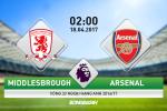 Middlesbrough vs Arsenal (02h00 ngay 18/4): Nhung nguoi khon kho