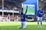 Tong hop: Everton 3-1 Burnley (Vong 33 NHA 2016/17)