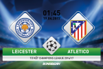 Leicester vs Atletico Madrid (1h45 ngay 19/04): Kho co dong dat
