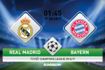 """Real vs Bayern (1h45 ngay 19/4): Thang tien cung """"vua Midas"""""""