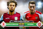TRUC TIEP Middlesbrough vs Arsenal 02h00 ngay 18/4 (NHA 2016/17)