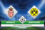 Giai ma tran dau Monaco vs Dortmund 01h45 ngay 20/4 (Champions League 2016/17)