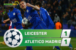 Leicester 1-1 (1-2) Atletico Madrid (KT): Ngang cao dau roi Champions League