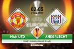 MU vs Anderlecht (2h05 ngay 21/4): Gieo them ac mong