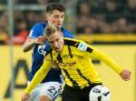 Tong hop: Schalke 1-1 Dortmund (Vong 26 Bundesliga 2016/17)