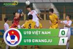 Tong hop: U19 Viet Nam 0-1 U19 Gwangju (Giai U19 quoc te 2017)