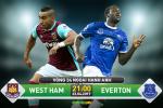 TRUC TIEP West Ham vs Everton 21h00 ngay 22/4 (NHA 2016/17)