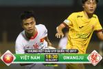 U19 Viet Nam 2-0 U19 Gwangju (KT): Thang trong the thieu nguoi, U19 Viet Nam vo dich thuyet phuc