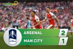 Tong hop: Arsenal 2-1 Man City (Ban ket FA Cup 2016/17)