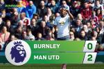 Tong hop: Burnley 0-2 MU (Vong 34 NHA 2016/17)