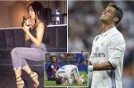 Ronaldo cam ban gai tiec tung linh dinh tai nha sau that bai o El Clasico