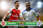 TRUC TIEP Arsenal vs Leicester 01h45 ngay 27/4 (NHA 2016/17)