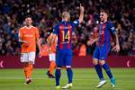 Thong ke Barca 7-1 Osasuna: Lan dau cho Mascherano