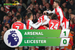 Arsenal 1-0 Leicester (KT): Chien thang may man ma quy gia