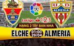 Nhan dinh Elche vs Almeria 01h00 ngay 29/4 (Hang 2 TBN 2016/17)