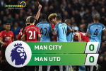 Man City 0-0 MU (KT): Fellaini an the do, Quy do thoat thua ngoan muc o derby