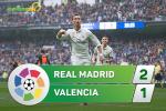 Tong hop: Real Madrid 2-1 Valencia (Vong 35 La Liga 2016/17)