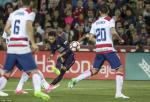 Neymar di vao lich su trong ngay Barcelona dai thang