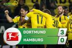 Tong hop: Dortmund 3-0 Hamburg (Vong 27 Bundesliga 2016/17)