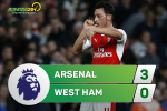 Arsenal 3-0 West Ham (KT): May mu tam tan tren bau troi Emirates