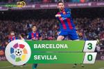 Barca 3-0 Sevilla (KT): Messi thang hoa, Blaugrana thang don gian