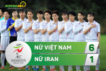 Tong hop: Nu Viet Nam 6-1 Nu Iran (VL Asian Cup 2018)