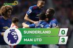 Tong hop: Sunderland 0-3 MU (Vong 32 NHA 2016/17)