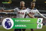 Tong hop: Tottenham 2-0 Arsenal (Vong 35 NHA 2016/17)