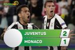 Tong hop: Juventus 2-1 Monaco (Luot ve ban ket Champions League 2016/17)