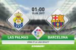 Giai ma tran dau Las Palmas vs Barca 01h00 ngay 15/5 (La Liga 2016/17)